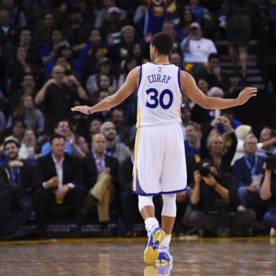 Golden Staten Stephen Curry.
