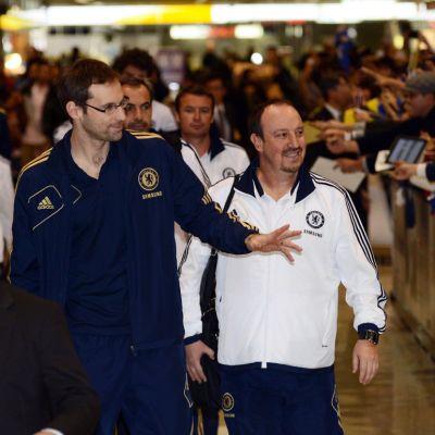 Chelsea saapui sunnuntaina Japaniin manageri Rafael Benitezin johdolla.