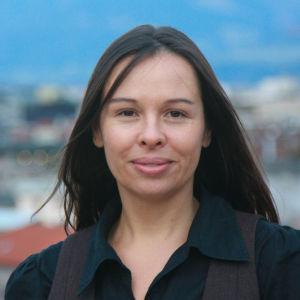 Professor Tatjana Schnell från Innsbrucks universitet.