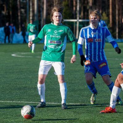Emerik Grönroos, Touko Laakkonen, Fredrik Fladby, EIF - Klubi04 12.3.2016.