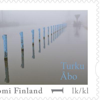 Pekka Vallilan kuva Aurajoen paaluista voitti Merkillinen Turku -valokuvakisan.