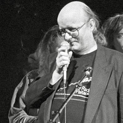 Puntti Valtonen ja Juice Leskinen vuonna 1988