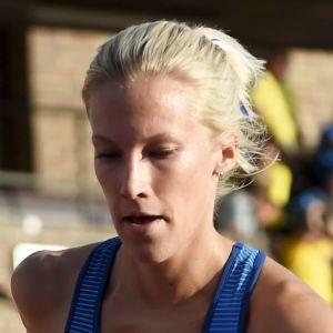 Camilla Richardsson tävlar i Stockholm.