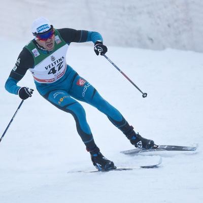 Maurice Manificat skidar.