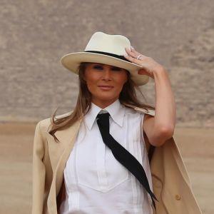 Melania Trump i Egypten.
