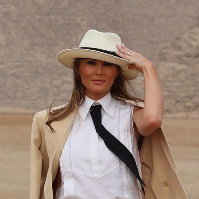 Melania Trump antoi harvinaisen haastattelun