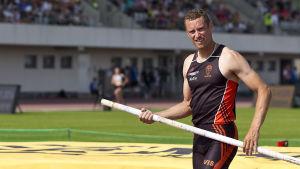 Mikael Westö, Kalevaspelen 2016.