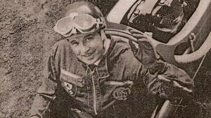 Curt Lincoln i en Cooper på 1950-talet.