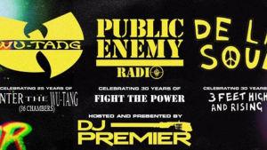 Detalj från affischen för Gods of Rap-evenemanget