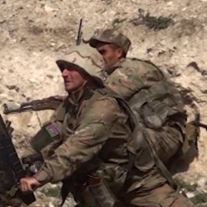 Soldater i Nagorno-Karabach.