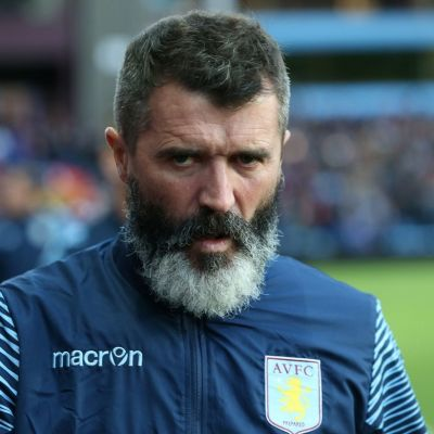 Aston Villan apulaismanageri Roy Keane lähikuvassa.