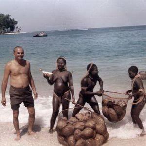 Intialainen antropolgi andamaaneilla