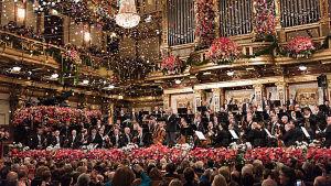 Vuoden 2015 uuden vuoden konsertin johti Zubin Mehta. Konsertti nähdään Suomessakin aina uutena vuotena.
