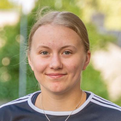 Porträttbild på Ida Wiberg.