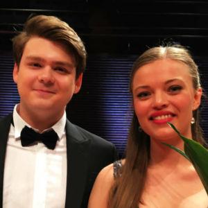 Stefan Astakhov och Johanna Wallroth
