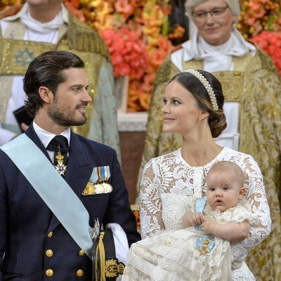 Prinssi Carl Philip ja prinsessa Sofia.