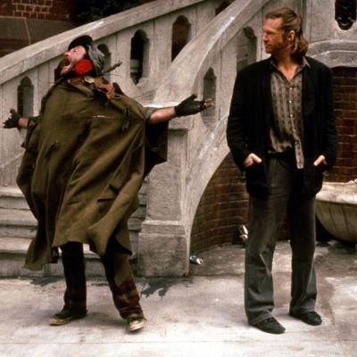 Robin Williams ja Jeff Bridges elokuvassa Fisher King (1991)
