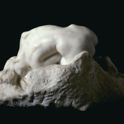 Auguste Rodin: Danaidi (1889) Ateneum Art Museum, Antellin kokoelma.