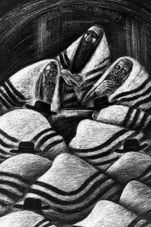 Bedřich Fritta: Judar i bön
