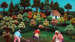 Målning av Ivan Generalic.