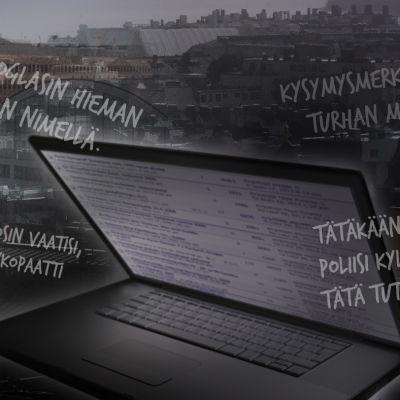 Vihapuhelainauksia kadonneita käsitteleviltä nettifoorumeilta