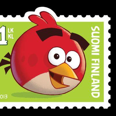 Angry Birds postimerkki