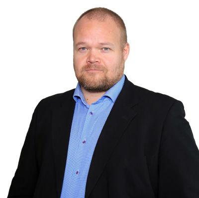 Janne Pesonen, kandidat för partisekreterarposten i Samlingspartiet