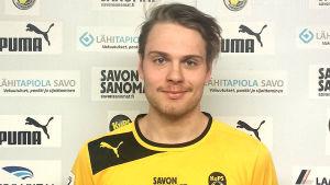 Jerry Voutilainen, VPS senaste nyförvärv.