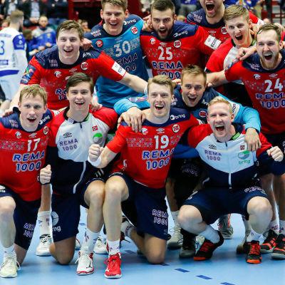 Norge jublar efter sjätte raka segern i EM.