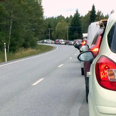 Bilkö på Alskatvägen i Korsholm