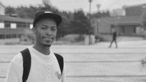 Yusuf Mohamed är asylsökande ursprungligen från Somalia och uppväxt i Yemen.
