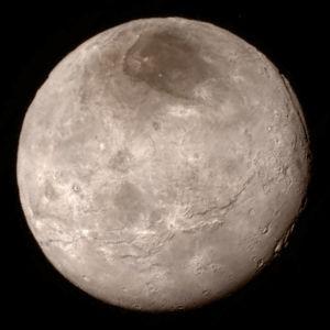 Kharon, Pluton kuu