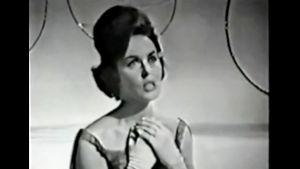 Laila Halme sjöng för Finland i Eurovisionen år 1963.