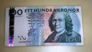 Carl von Linné sadan kruunun setelissä