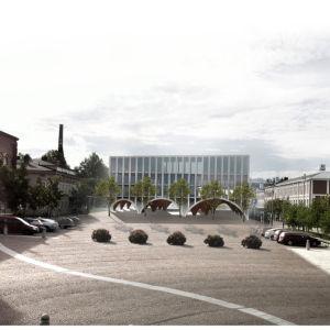 Tampereen alueen suunnitelmia, havainnekuva