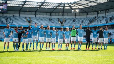 Malmö FF klart för Champions League.