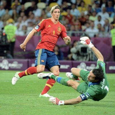Torres maalaa Espanja Italia