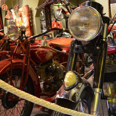 Moottoripyörämuseon moottoripyörä