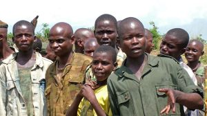 Tidigare barnsoldater i Kongo-Kinshasa