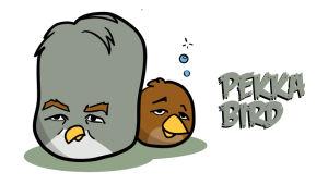 Angry birds som ser ut som president kandidaterna