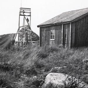En fiskarbastu i Korsholms skärgård.