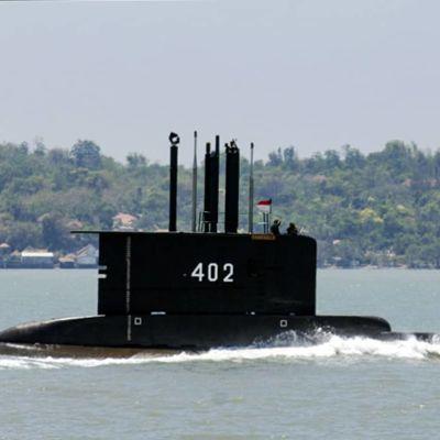 Indonesiska flottans u-båt KRI Nanggala-402 som försvunnit.