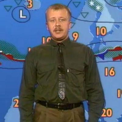 Meteorologen Juha Föhr