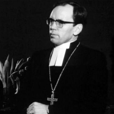 Bild på en präst
