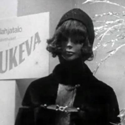 En skyltdocka 1969