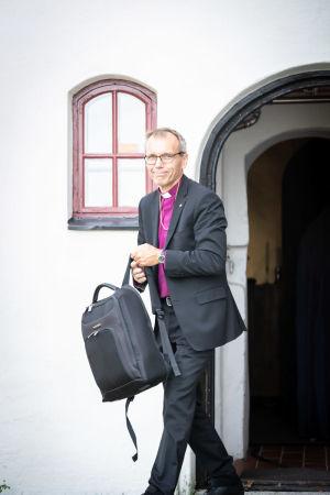 Björn Vikström lämnar domkyrkan