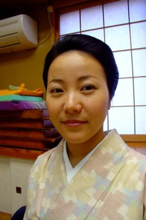 Kozue stortrivs med livet som geisha.