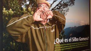 Silbo-vihellyskielen käyttäjä