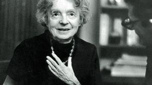 Nelly Sachs, författare, nobelpristagare 1966.