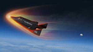 Rymdflygplanet X-20.